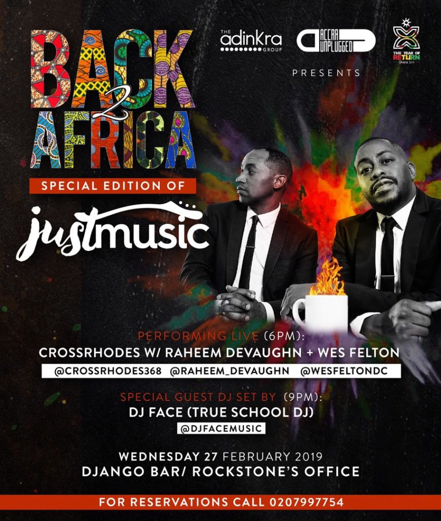 Year Of Return: Back2Africa Festival & Tour to be launched