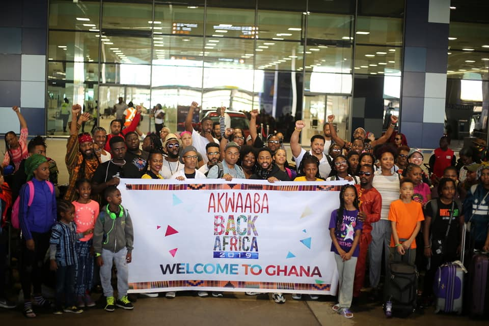 'Year of return': Hundreds of African-Americans resettle in Ghana